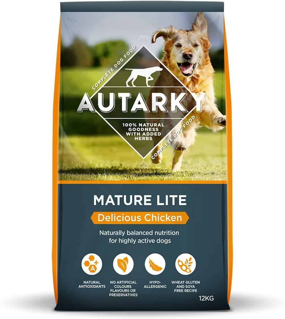 Autarky Hypoallergenic Mature Light Dog Food