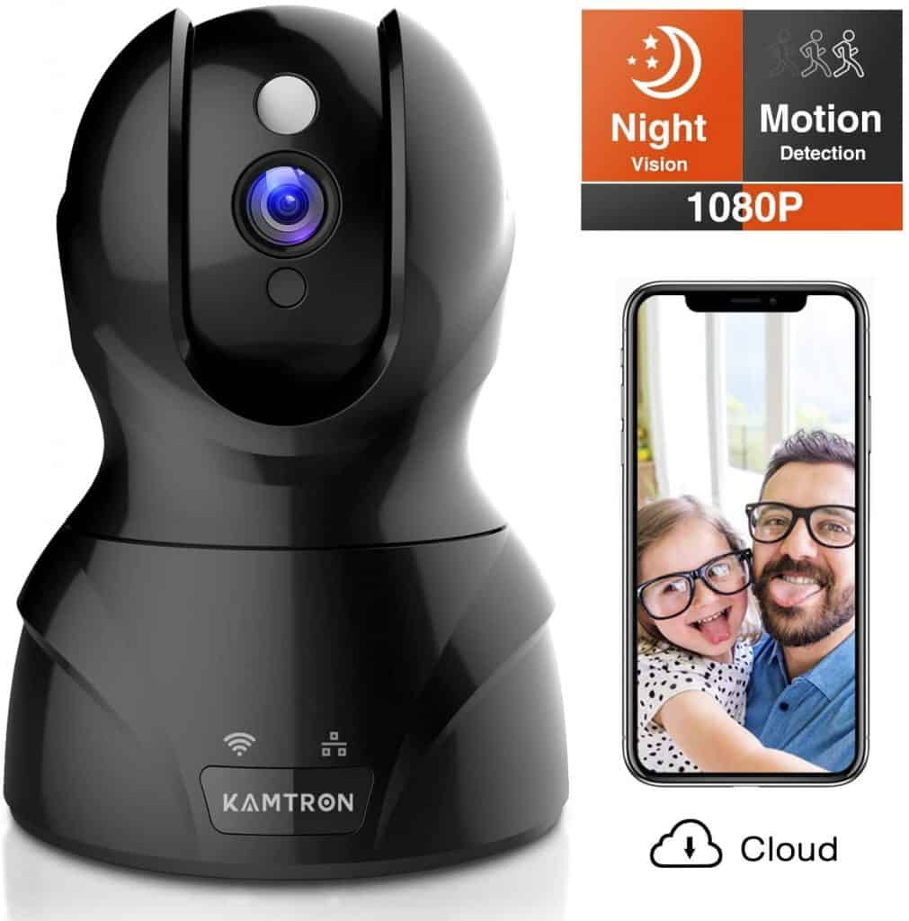 KAMTRON Security and Pet WiFi Camera