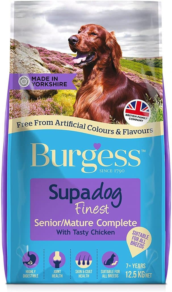 Supadog Burgess Senior/Mature British Chicken