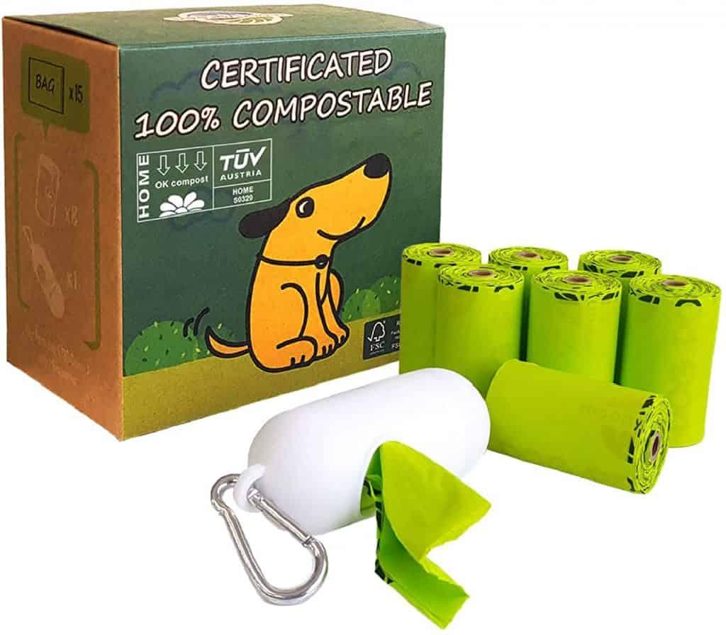 Moonygreen Biodegradable Dog Poop bags