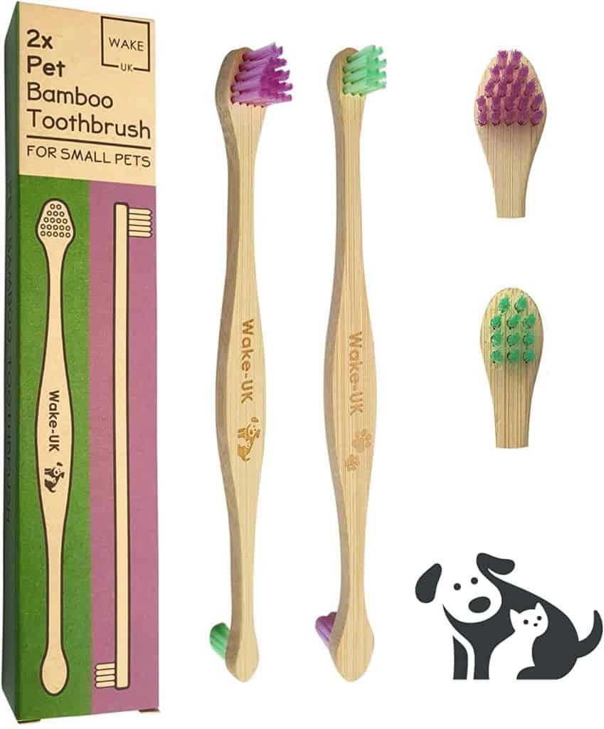 Wake-UK 2 Double Sided Toothbrushes